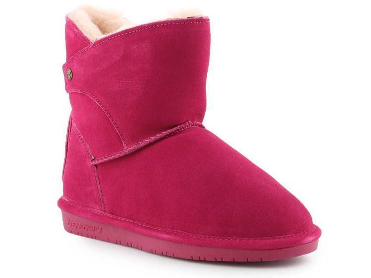 BearPaw Mia Youth 2062Y-671 Pom Berry