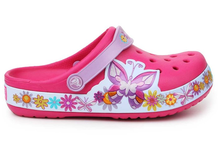 Crocs Crocband Butterfly Clog K 202664-6X0