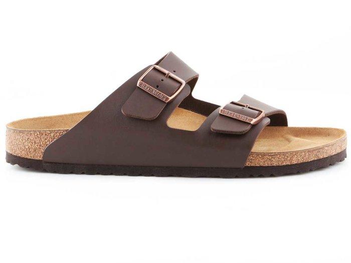 Sandals Birkenstock Arizona BF Dark Brown 0051703