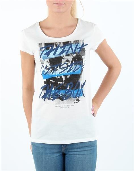 T-shirt Damski SLIM T CLOUD DANCER L41MEVHA