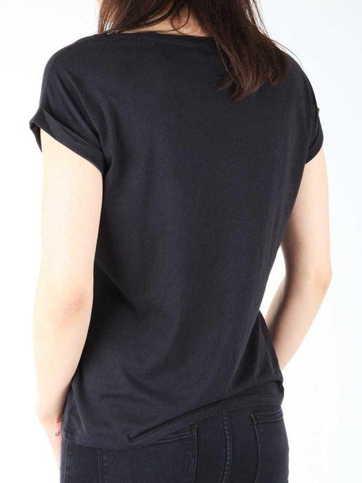 T-shirt Wrangler S/S Text Tee Black W7307DSBU