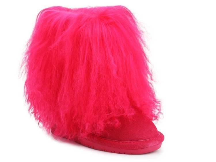 Winterschuhe Bear Paw Boo Toddler 1854T Electric Pink