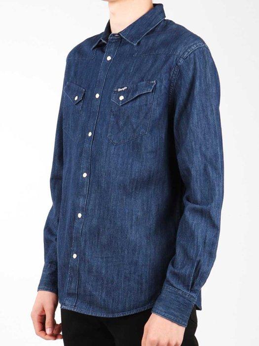 Hemd Wrangler L/S Western Shirt W5870O61E