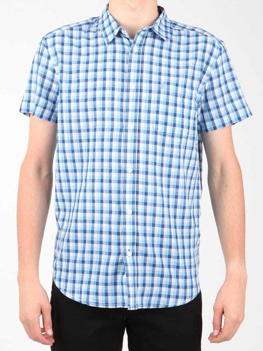 Kurzarm Hemd Wrangler S/S 1 PKT Shirt W5860LIRQ