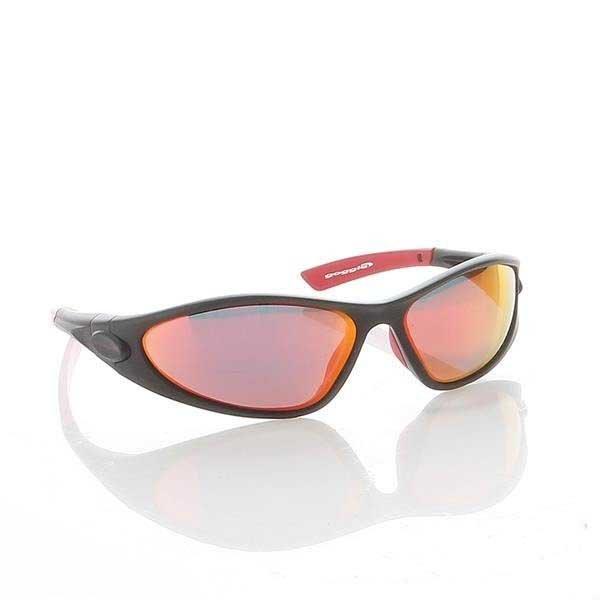 Okulary Przeciwsłoneczne Goggle Matt Black E337-3P