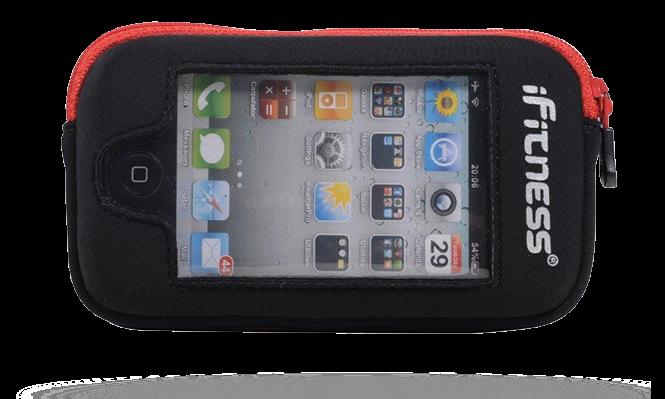 iFitness Kieszeń Na iPhona OA ADP03 BLK/RED IFIT-0197