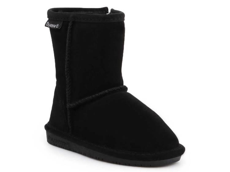Zimowe buty dziecięce BearPaw 608TZ Black II
