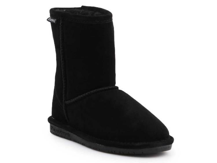 Zimowe buty dziecięce BearPaw 608Y Black Neverwet