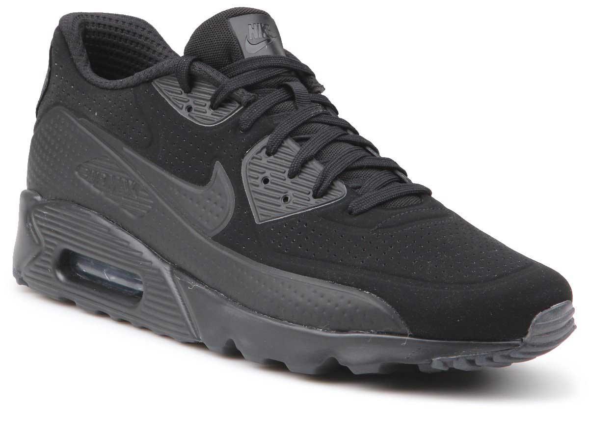 Buty Męskie Nike Air Max 90 Ultra Moire 819477 010 Black