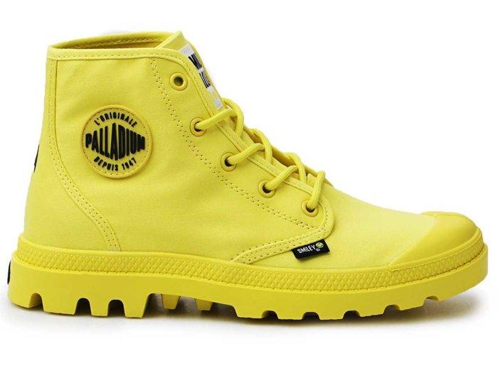 Buty Lifestylowe Palladium Hi Be Kind Blazing Yellow Pampa Hi 77079-736-M