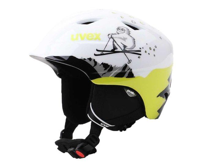 Juniorski Kask narciarski Uvex Airwing 2 566132-1601