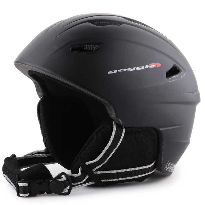 Kask narciarski Goggle Black Matt S300-2