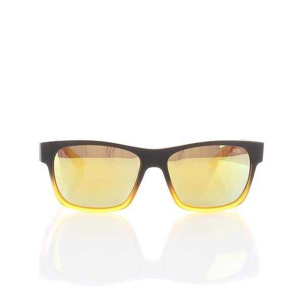 Okulary Przeciwsłoneczne Goggle Matt black/Yellow E904-5P